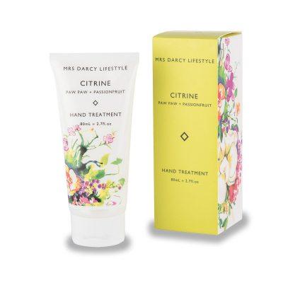 Mrs Darcy Hand Cream - Citrine - Pawpaw, Passionfruit