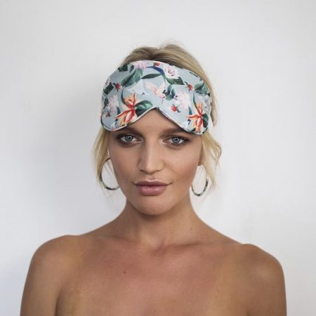 Louvelle Chloe Eye Mask in Magnolia