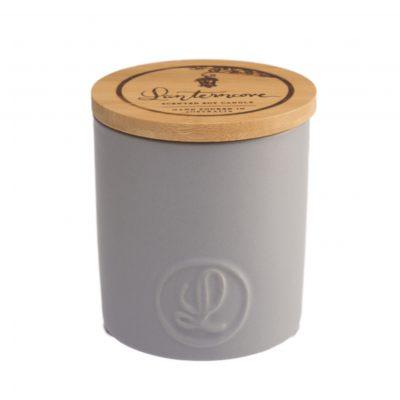 Lanterncove Pastel 14.5oz Candle - Ebony & Smoke