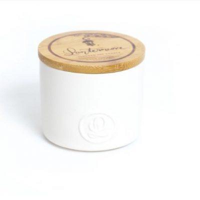 Lanterncove Pastel 8oz Soy Candle - Coconut & Jasmine